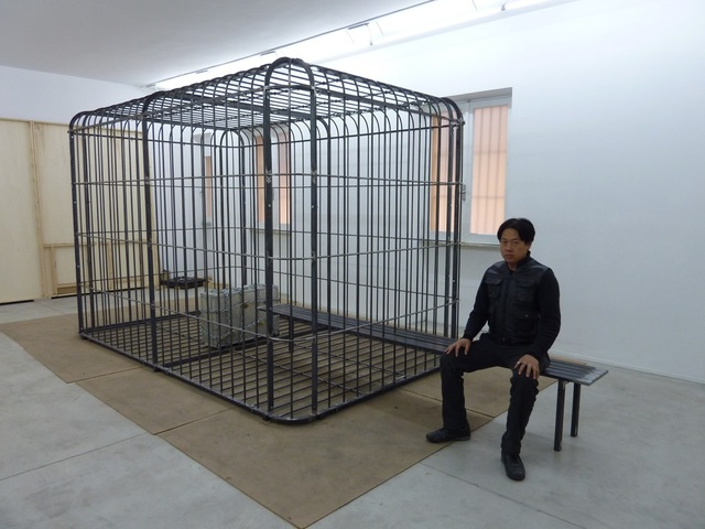 , 'The Cage, the Bench and the Luggage,' 2011-2017, Tang Contemporary Art