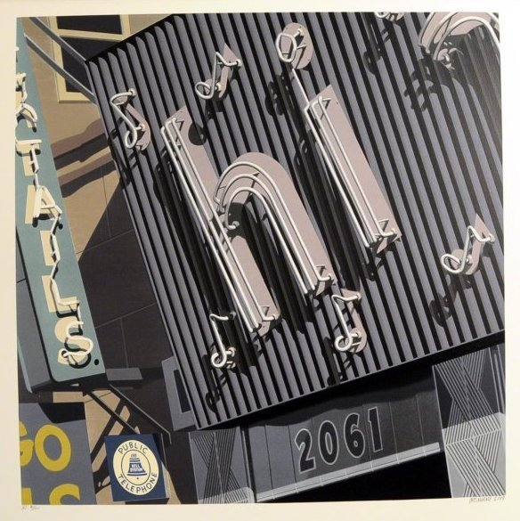 Robert Cottingham, 'Hi', 2009, Kunzt Gallery