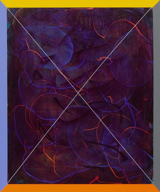 , 'Simple Ex (Purple Gaze),' 2016, Newzones