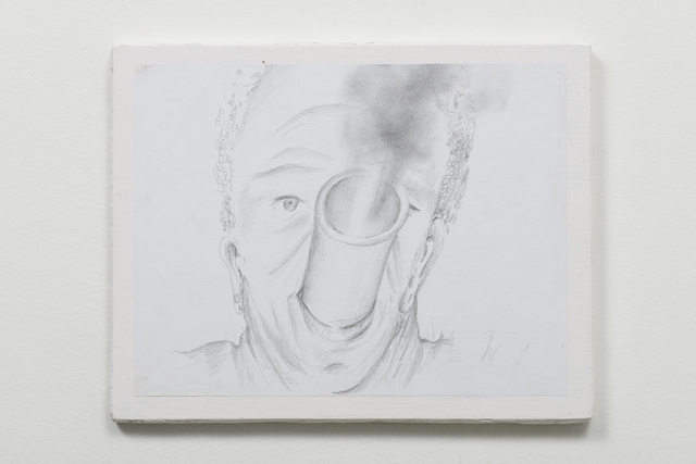 , 'Exhausted Drawing (Stephen),' 2015, carlier | gebauer