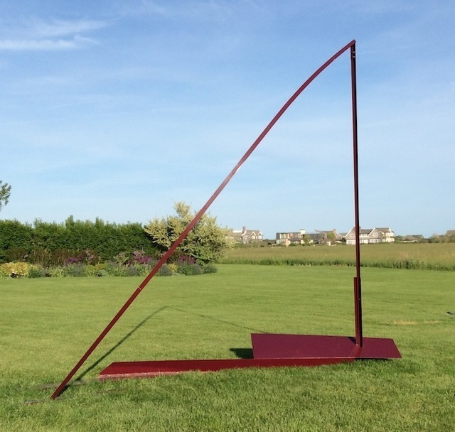 Arden Scott, 'Port Tack Burgundy', 2013, Kathryn Markel Fine Arts