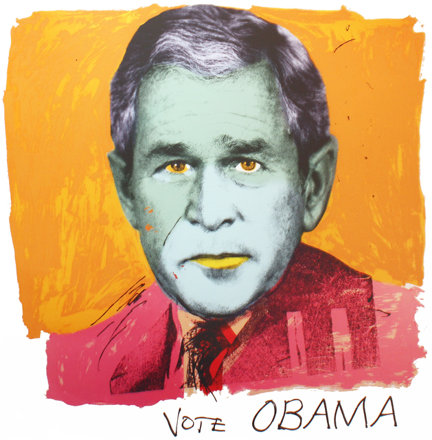 , 'Homage to Andy, Vote OBAMA,' 2008, Robert Berman Gallery