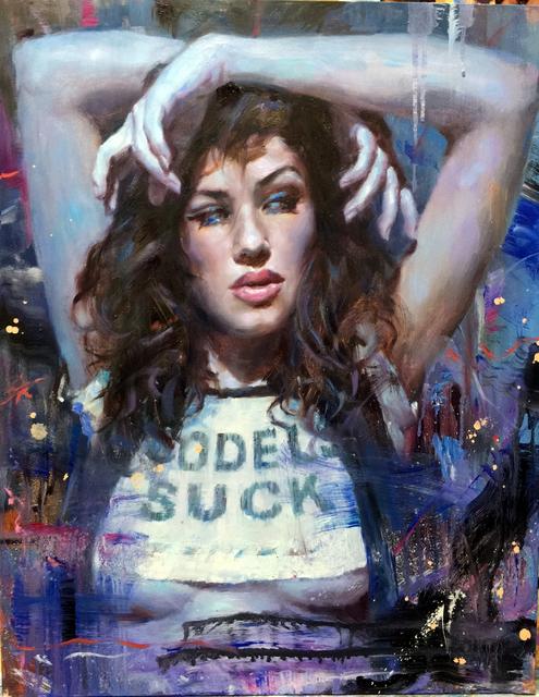 , 'Blue,' , Sirona Fine Art