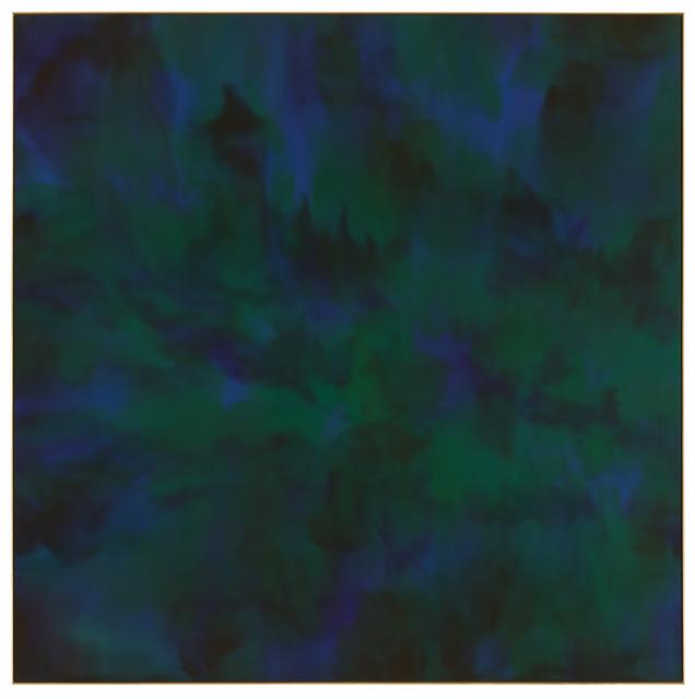 Matti Braun, 'Untitled ', 2019, Textile Arts, Silk, dye and elm wood frame, OMR