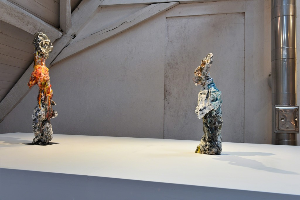 view into the Exhibition with Xavier Toubes