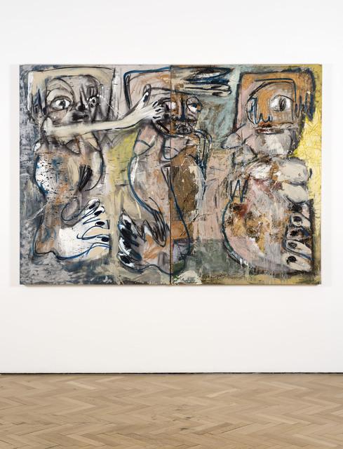 , 'Voynich, Zumbi and Belfie (Seville),' 2016, Vigo Gallery