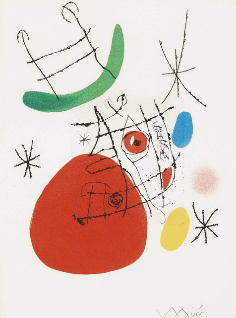Joan Miró, 'El Innocente: two plates', 1974, Christie's