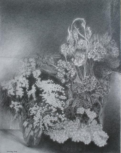 , 'Mimosa,' , Stern Pissarro