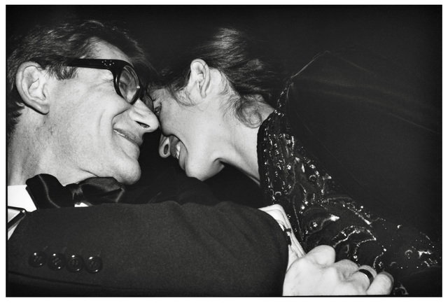 , 'Yves Saint-Laurent and Gwendoline D'Urso, Paris, France, 1980,' 1980, Gagosian
