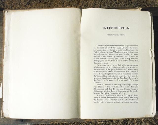 , 'Bone Grass Boy Book Pages Spread #16,' 1993-1996 / 2017, Luis De Jesus Los Angeles