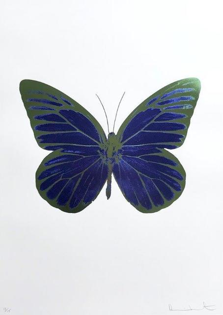 Damien Hirst, 'The Souls I - Westminster Blue - Blind Impression - Leaf Green', 2010, Kunsthuis Amsterdam