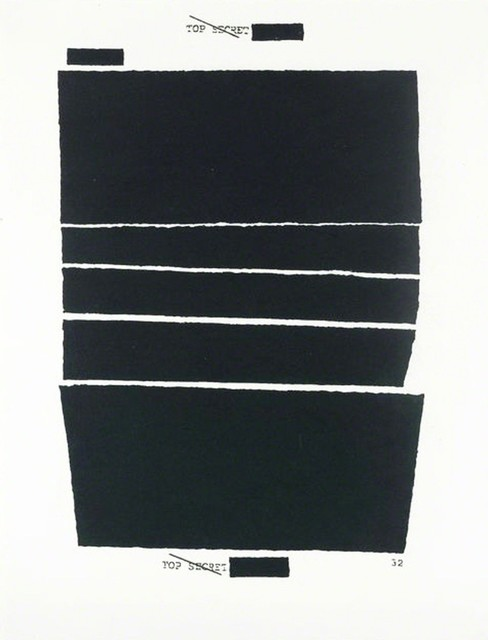 Jenny Holzer, 'TOP SECRET 32', 2012, MLTPL