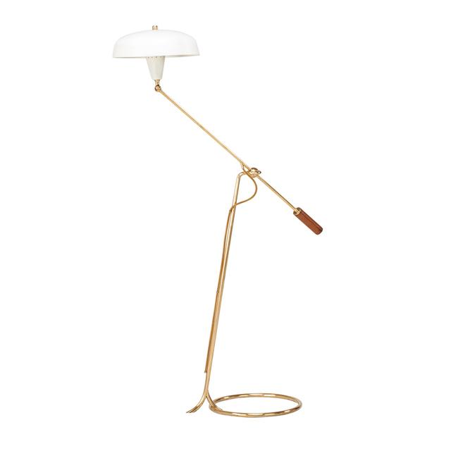 Angelo Lelii, 'Adjustable Floor Lamp, Italy', 1950s, Rago/Wright