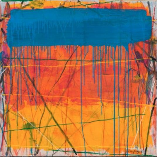 Tan Ping, '向罗斯科致敬', 2015, Ginkgo Space