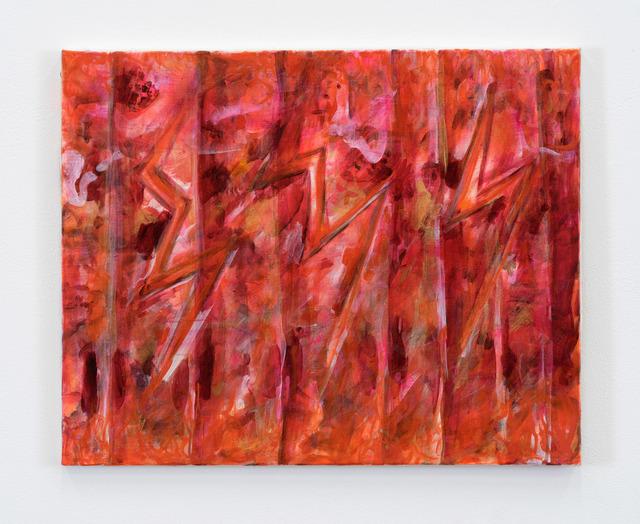 , 'Lighting Figures I (from the studio, in memory of Parrino),' 2010-2011, Bortolami