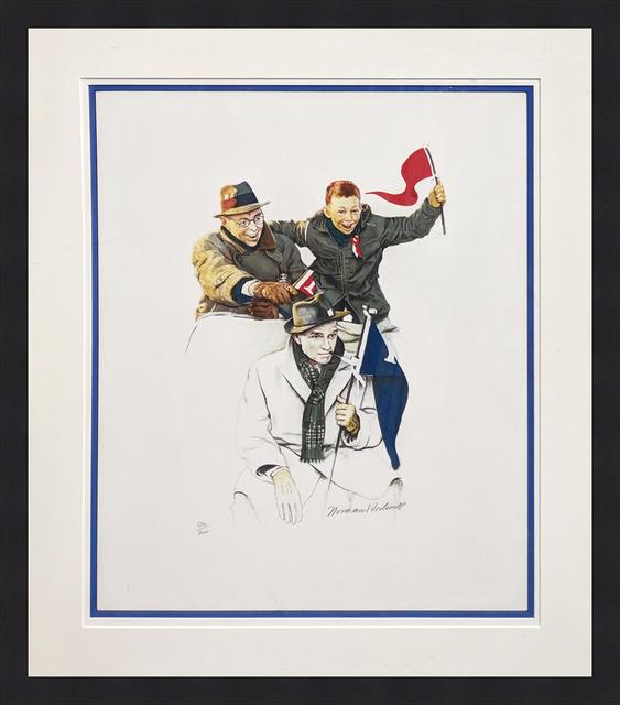 Norman Rockwell, 'CHEERING', 1972, Gallery Art