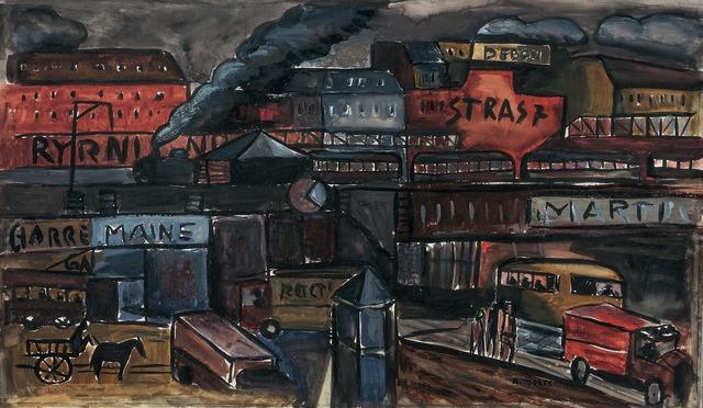 , 'Paisaje urbano, París,' , Galería de las Misiones
