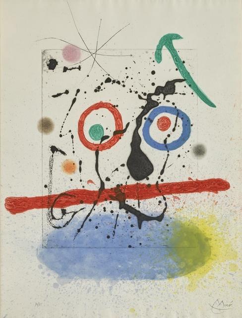 Joan Miró, 'Le Scieur de Long (D. 458)', 1968, Sotheby's