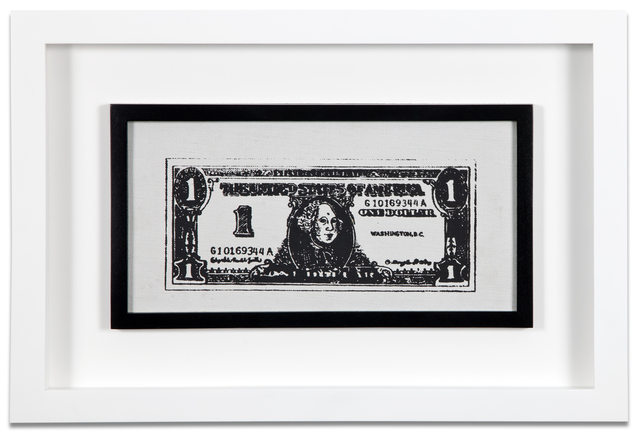 , 'Untitled (Dollar Bill),' 1962, Kohn Gallery