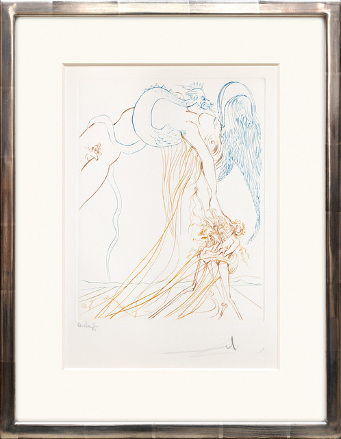 Salvador Dalí, 'La tentation (The Temptation) ', 1974, Peter Harrington Gallery