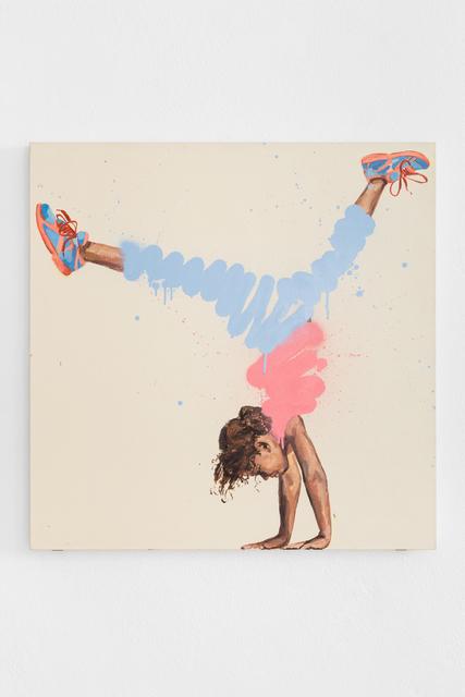 Ernest Zacharevic, 'Bending Over Backwards #3', 2019, Underdogs Gallery