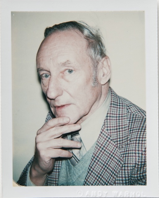 Andy Warhol, 'Andy Warhol, Polaroid Portrait of William S. Burroughs, 1980', 1980, Hedges Projects