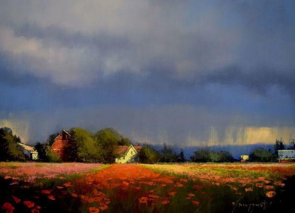 ", '""Flower Field"",' 2017, Bonner David Galleries"