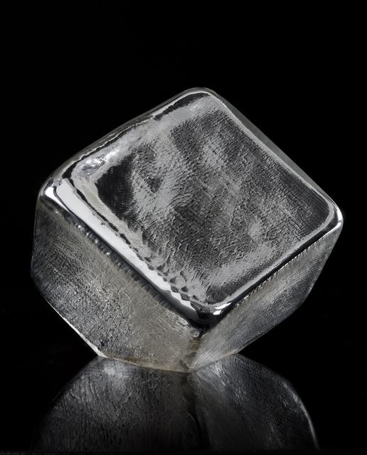 , 'Unique faceted cube sculpture,' 2011, R & Company