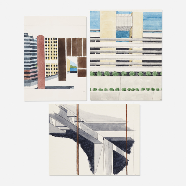 Robert Herrmann, 'Untitled (three works)', c. 1995, Wright
