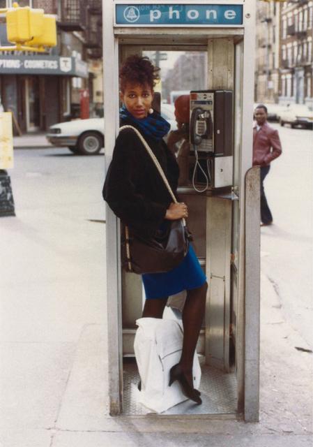 Jamel Shabazz, 'Styling & Profiling, Flatbush, Brooklyn', 1980, Photography, Archival pigment print, Aperture Foundation