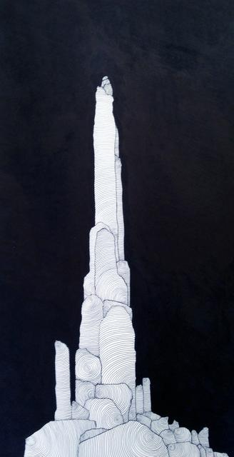 , 'Night Pinnacle,' 2018, Porch Gallery