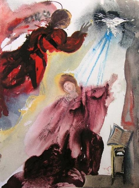 , 'The Annunciation To Mary,' 1967, Baterbys Art Gallery
