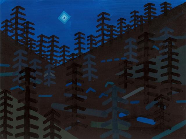 , 'Diamond Shaped light, disappears and emits blue flash - Bremerton, WA,' 2015, G. Gibson Gallery
