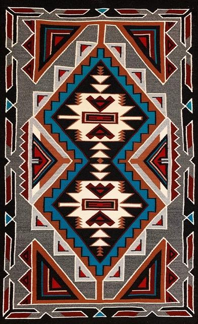 Navajo artist   handmade finest authentic Navajo rug (2019 ...