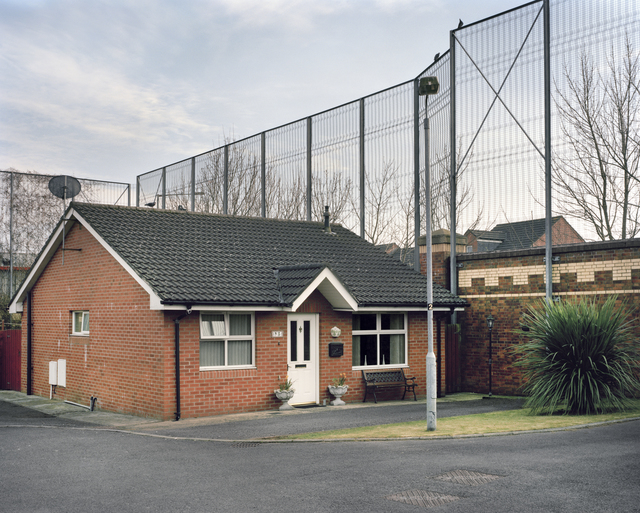 Yishay Garbasz, 'Kirk Crescent, Protestant neighborhood, Belfast', 2014, Ronald Feldman Gallery