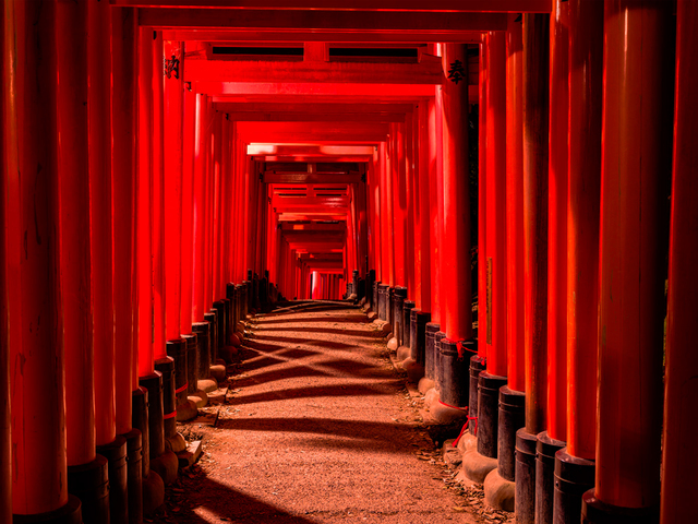 , 'Fushimi Inari-Taisha 7,' 2016, Hollis Taggart Galleries