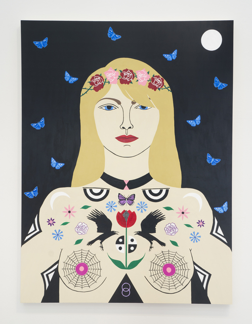 , 'Night Gardener,' 2017, Denny Gallery