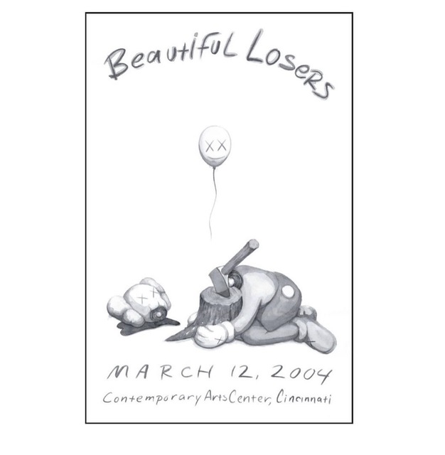 KAWS, 'Kaws Beautiful Losers Poster', 2004, Reproduction, Offset poster, Jonathan LeVine Projects