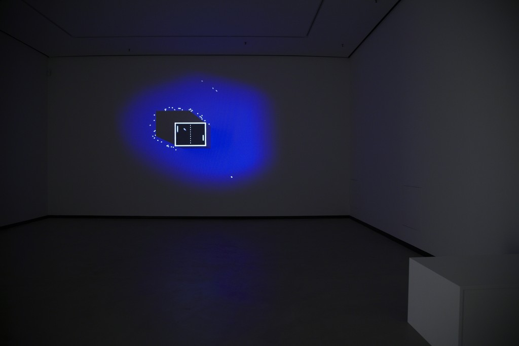 Hanna Haaslahti, We are Ping, They are Pong, 2013,  generative video installation