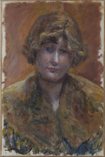 , 'Portrait de jeune fille,' Painted circa 1921, Hammer Galleries