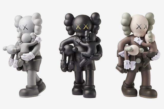 KAWS, 'CLEAN SLATE (SET OF 3)', 2018, Marcel Katz Art