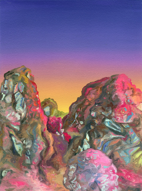 , 'Dirty Pink Sunset,' , The Ernest G. Welch School of Art & Design at Georgia State University