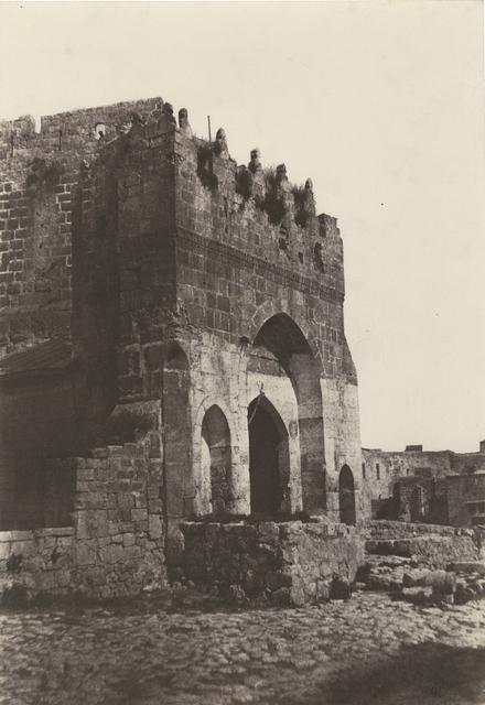 Auguste Salzmann, 'Jerusalem, Porte de la Citadelle', 1854/1854, Contemporary Works/Vintage Works