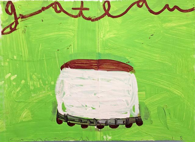 , 'Cake (Creme on Lime), Dyptich,' 2018, Madelyn Jordon Fine Art