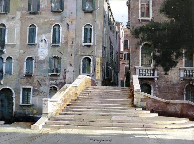 , 'Il ponte (Venezia),' 2019, Pontone Gallery
