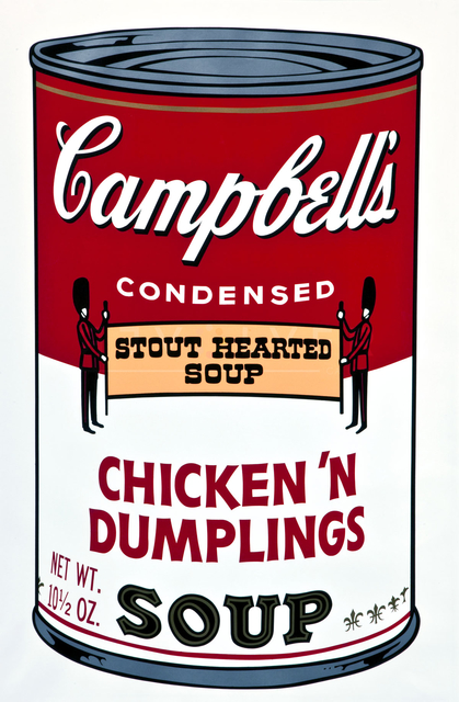 Andy Warhol, 'CHICKEN N'DUMPLINGS, FROM CAMPBELL'S SOUP II (F. & S. II.58)', 1969, Print, Screenprint in colors, on smooth wove paper,, Corridor Contemporary