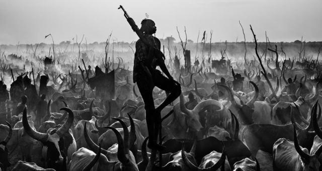 David Yarrow, 'Proud Night Watchman ', ca. 2015, Photography, Digital Pigment Print on Archival 315gsm Hahnemuhle Photo Rag Baryta Paper, Isabella Garrucho Fine Art