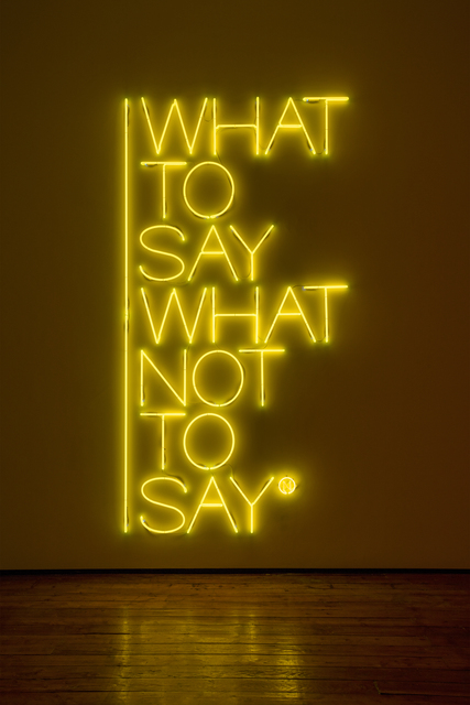 , 'What to say what not to say,' 2017, Galleria Fumagalli