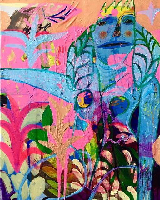Rusudan Khizanishvili, 'Power of Nature', 2017, ERTI