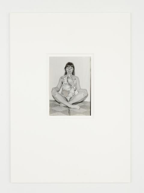 Annegret Soltau, 'Schwanger [Pregnant]', 1977, Richard Saltoun